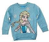 Disney Sudadera, jersey, parte superior de Frozen, color azul claro y turquesa turquesa 158