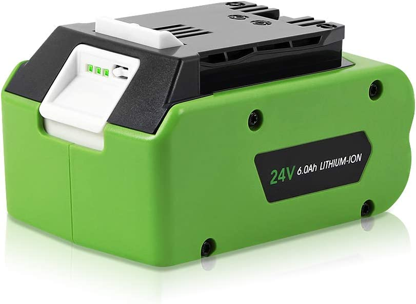 Special Campaign Jialipok 24V 6.0Ah Limited time trial price Replacement Battery Cordle for Greenworks