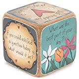 DEMDACO Table Talk Sweet Table Prayer Conversation Dice, 3 in Square