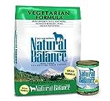 Natural Balance Vegetarian Formula Dry & Wet Dog Food Bundle