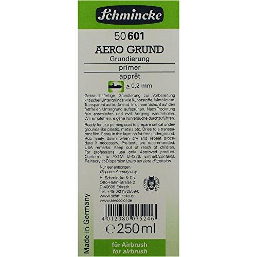 Schmincke Aero Grund 50 601 Airbrush primer 250 ml voor airbrushverf hulpmiddel