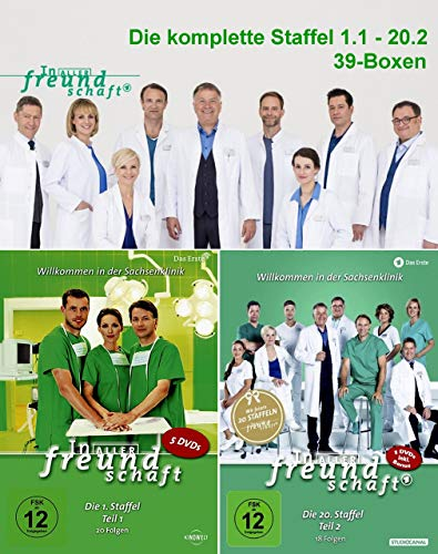 In aller Freundschaft Staffel 1-20 / Episoden 1-795 [DVD Box Set]