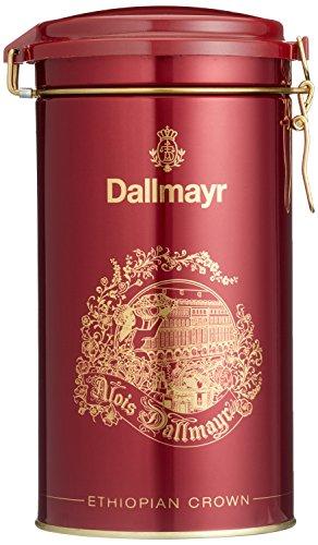 Dallmayr Kaffeedose Ethiopian Crown rot, für 500g Filterkaffee, Schmuckdose (1 x 0,5 kg)