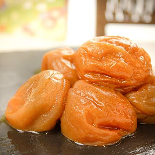 完熟 紀州 南高梅 1kg (500g×2pack) はちみつ 漬け 塩分8% 【 こだわりの 蜂蜜 使用 】 大粒 高級 蜂蜜 つぶれ梅 梅干し