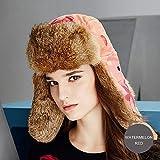 冬の帽子ボンバーハット防風コットンは暖かく保つために、女性の冬の暖かいバラクラバは耳のフラップ付きで1つのサイズの複数の色を着用する3つの方法