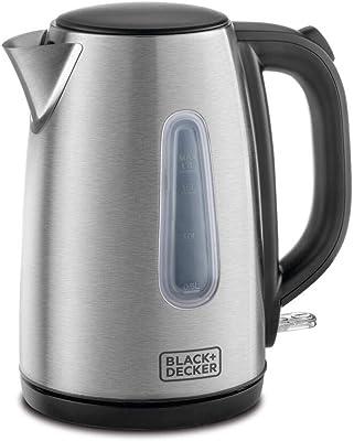 Black & Decker JC450-B5 - Hervidor de agua (1,7 L, 220 V, no apto para Estados Unidos, cable europeo)