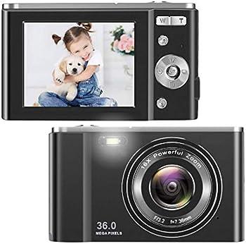 Toberto 36MP Full HD 1080p Digital Camera with 16x Optical Zoom