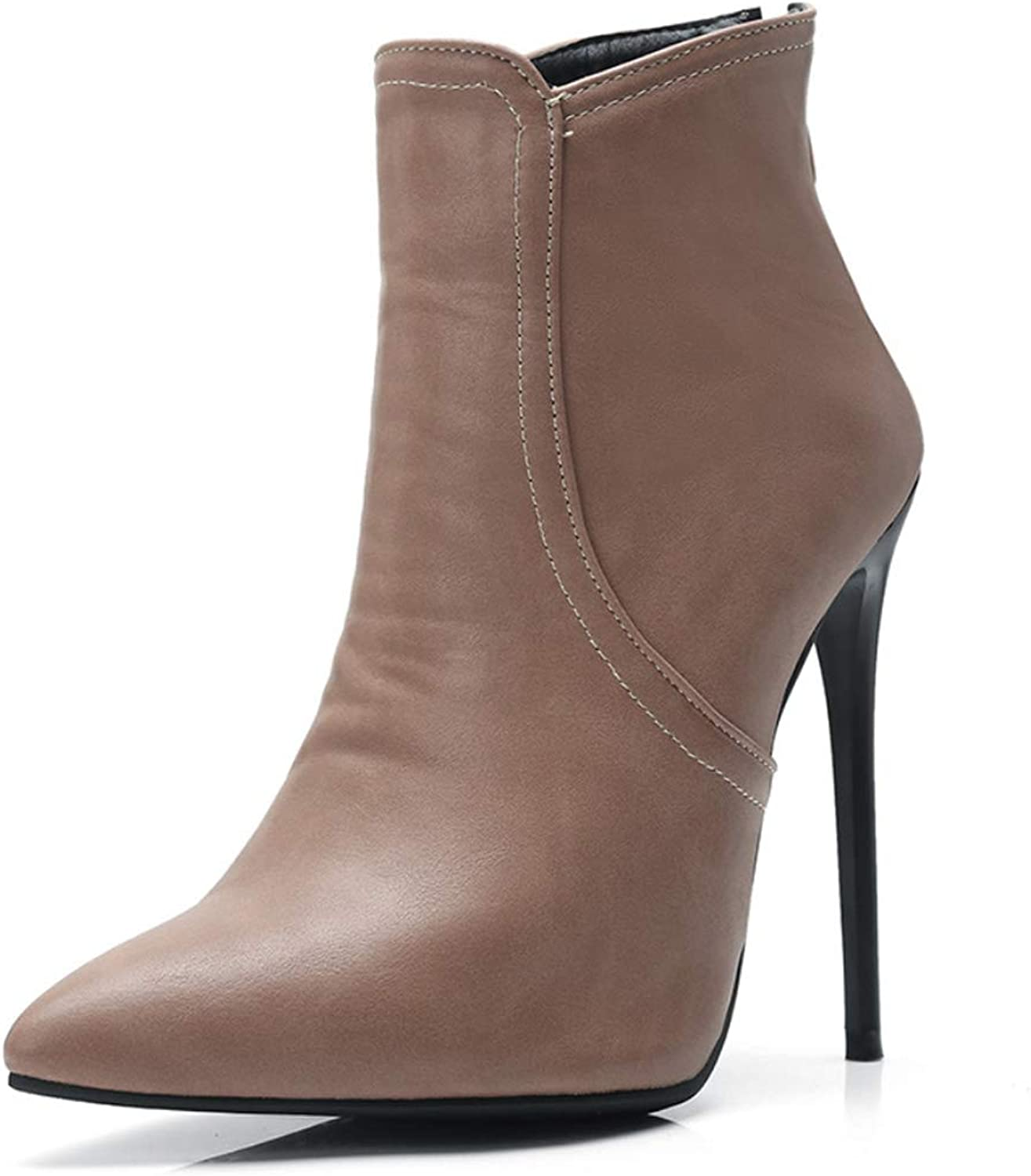 Women's Ankle Boots Fashion Boots Winter Boots Stiletto Heel Closed Toe Booties