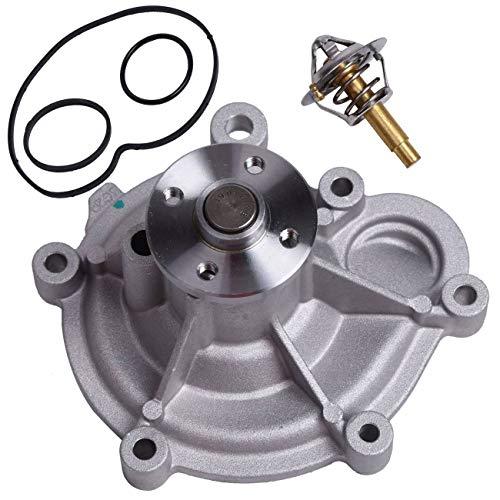 Bapmic 2712000201 Wasserpumpe + 90°C Thermostat Kühlmittel mit Dichtungen für C/E W203 W204 S204