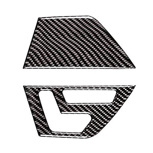 Auto Interieur Moulding Stijlvolle Hoge Kwaliteit Auto Voordeur Seat Aanpassing Frame Koolstofvezel Decoratieve Sticker 2 Stks, voor Mercedes-Benz W204