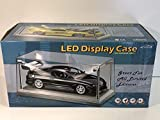 Triple 9 Display Case with Lighting for 1/18 Models Cars