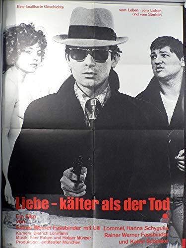 Liebe - Kälter als der Tod - Filmplakat A1 84x60cm gefaltet-G1