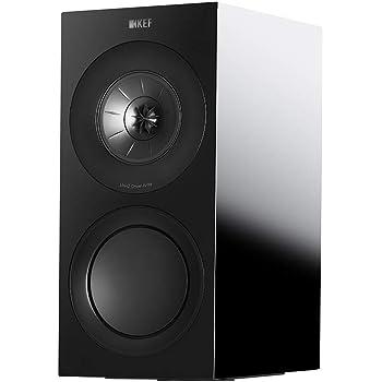 KEF R3 Standmound Speakers, Black (R3BL)