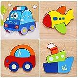 Afufu Juguetes Bebes, Puzzles de Madera, Juguetes Montessori Educativos para...
