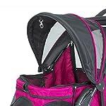 PETIQUE Razzberry Pet Stroller, Razzberry, One Size (ST01100103) 14