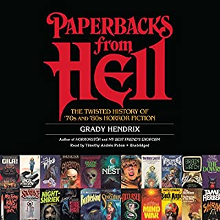 Paperbacks from Hell cover art