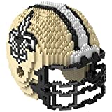 New Orleans Saints NFL 3D BRXLZ Construction Toy Blocks Set - Helmet