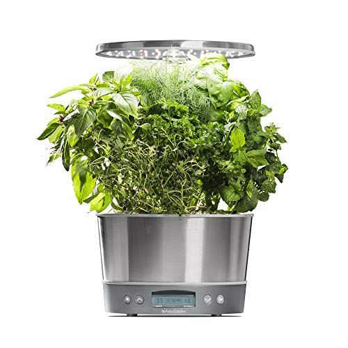 AeroGarden Harvest Elite 360 - Stainless Steel