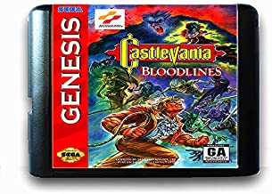 Castlevania Bloodlines For 16 Bit Sega Md Game Card For Mega Drive For Genesis Us Pal Version Video Game Console US PAL SHELL