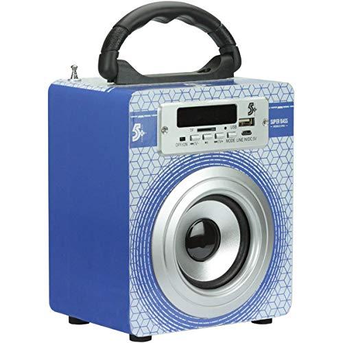 Caixa Acustica Portatil 5W RMS USB/FM/Bluetooth, Santana Centro, 030-0006
