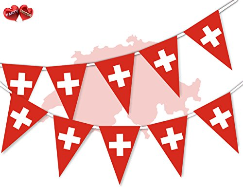 Party Decor South Africa Full Flag Patriotic Themed Bunting Banner 12 Rectangular flags for guaranteed simply stylish party National Royal decoration