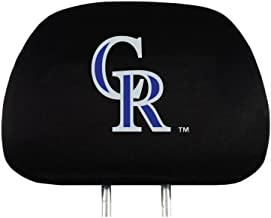 MLB Head Rest Covers, 2-Pack