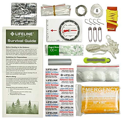 Lifeline 29 Piece Survival Can VERY HANDY STUFF! DISASTER PREPAREDNESS