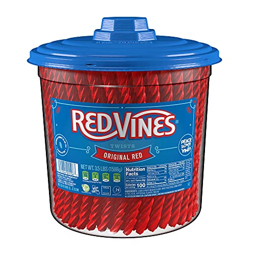 Twizzlers Mexico marca Red Vines