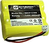 Synergy Digital Cordless Phone Battery, Works with Vtech ia5874 Cordless Phone, (Ni-CD, 3.6V, 900 mAh) Ultra Hi-Capacity, Compatible with Vtech 80-5071-00-00 Battery