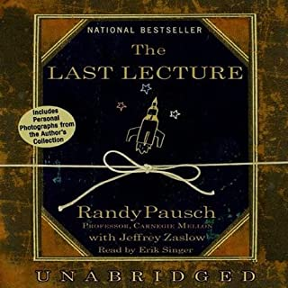 The Last Lecture cover art