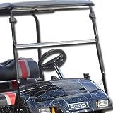 EZGO Marathon 1986-1994 Tinted Fold Down Impact Resistant Windshield for EZGO Marathon Golf Cart Quick Disconnect