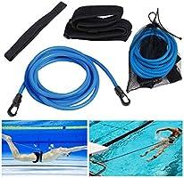 Wegreeco Zwemmen Trainingsriemen, Statische Zwemmen Trainingsriemen Stationaire Zwemtrainer Zwemmen In Plaats Weerstand...