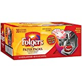 Folgers Filter Packs Coffee, Classic Roast (.9 oz. packs, 30 ct.)- Pack of 2