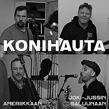 Ameriikkaan / Joki-Jussin saluunaan