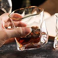 ウイスキータンブラーウイスキーワイングラス275ミリリットルウイスキーグラスビールジョッキジュースカップパーティーホームパーティー料理のレストランのためのバー・クラブバー用の器物パーフェクト (Color : With Phnom Penh, Size : 3 pcs)
