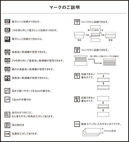 クラフトレシピ『メンズスリムランチボックス』