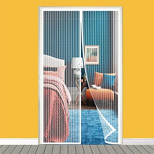 Mosquitera Puerta Magnética, Mosquitera Puerta, Cortina Magnética para Puerta, Mosquitera Ventana Automático para Puerta Corredera Salón Contrapuertas Cocina Balcón