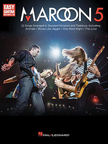 Maroon 5: Easy Guitar With Notes & Tab
