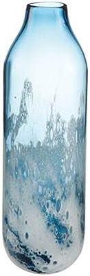Goebel 23120821 Aurora Blue - Jarrón (Cristal, tamaño Grande), Color Azul