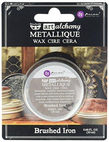 Prima Marketing Art Alchemy-Metallique - Cera de Hierro Cepillado