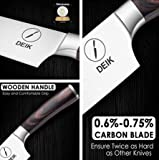 Zoom IMG-1 deik coltello cucina 20cm chef