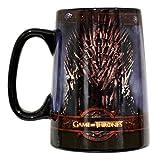 Ebros HBO Series Game Of Thrones House Of Targaryen Stark Baratheon And Lannister Sigil Large Ceramic Mug 5.5'Tall Official License GOT (GOT Iron Throne Mug)