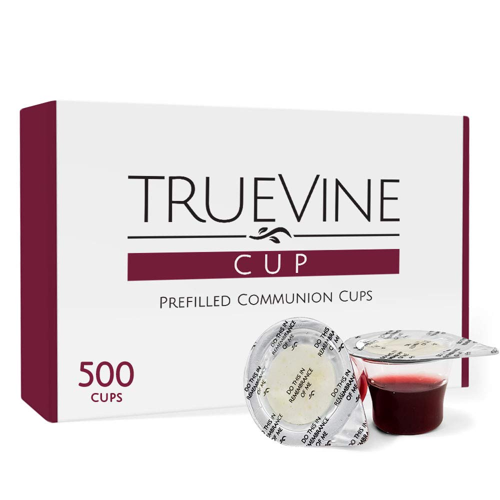 TrueVine Prefilled Communion Cups and Sales for sale Wafer - Set Pr of 500 Max 76% OFF Pack