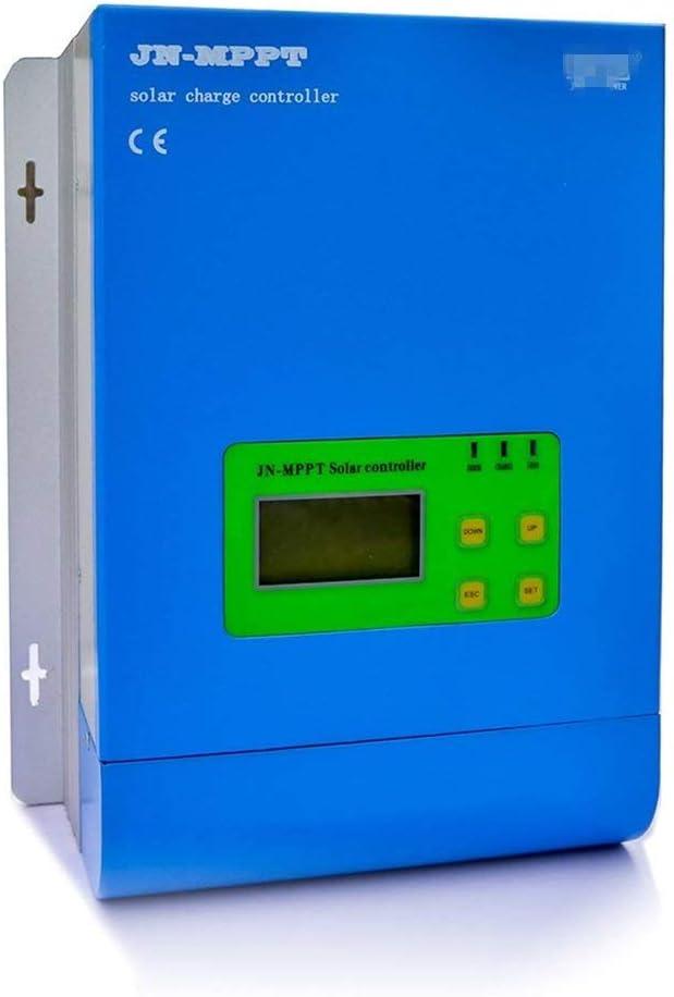 Kit de generador de turbina eólica Regulador de carga solar MPPT 12V / 24V / 48V Auto 30A-60A Regulador de batería del panel solar con Max150V Entrada de PV Pantalla LCD Múltiples opciones Sistema de