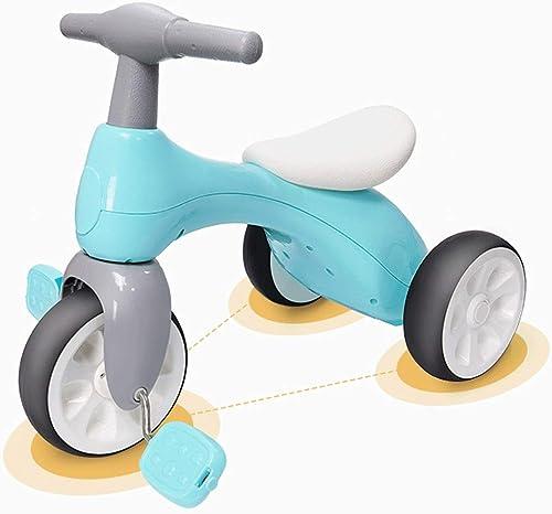 Baianju Vélo Tricycle pour Bébé Tricycle Léger pour Enfants Voiture à Pédales Poussette pour Bébé Voiture à Pédales Antichoc