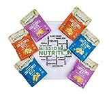 Rhythm Superfoods Cauliflower Bites (Keto Friendly, Low Carb, Paleo, Vegan) Mission Nutrition Variety Bag (6 Pack)