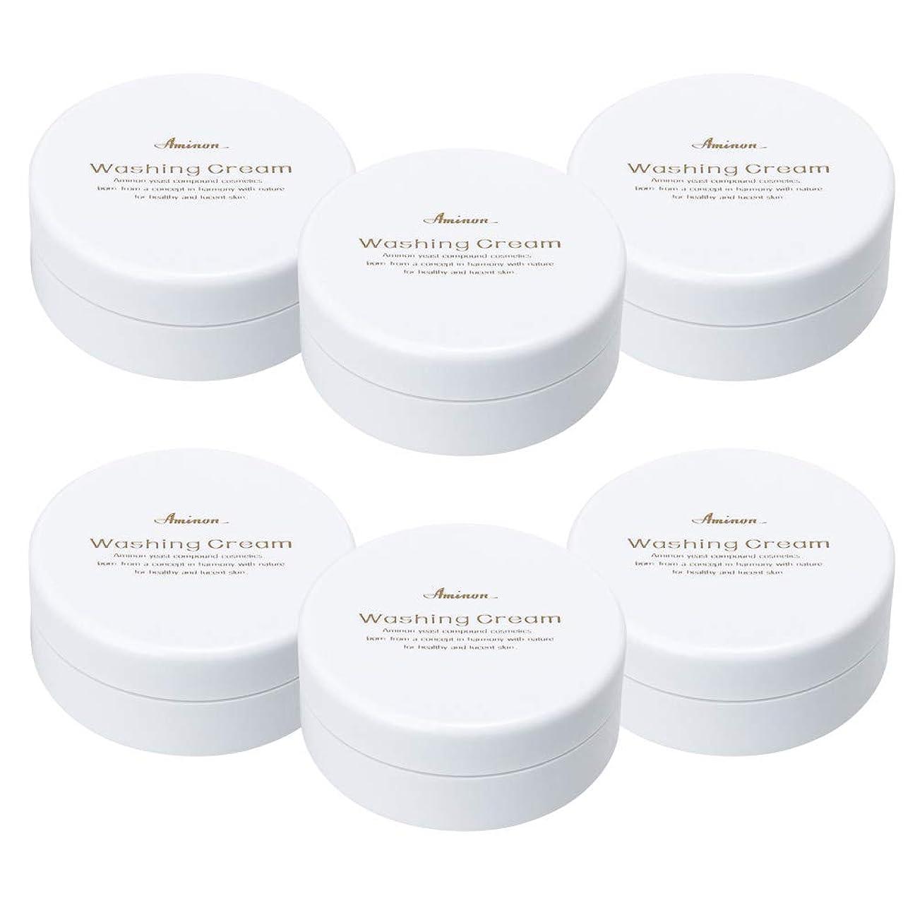 リーアストロラーベテーブルアミノン 洗顔クリーム 90g (6個セット)