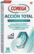 COREGA Acción total tabletas limpiadoras prótesis dentales 30 tabletas