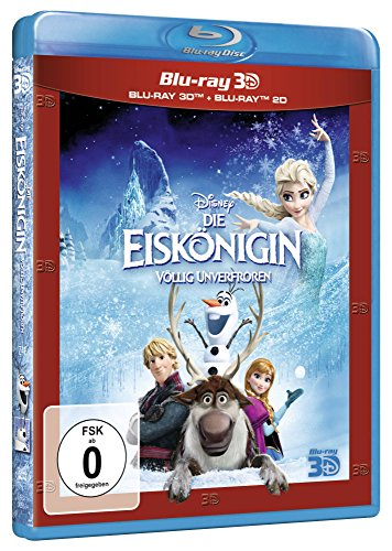 Die Eiskönigin (+ Blu-ray 2D) [Blu-ray 3D]