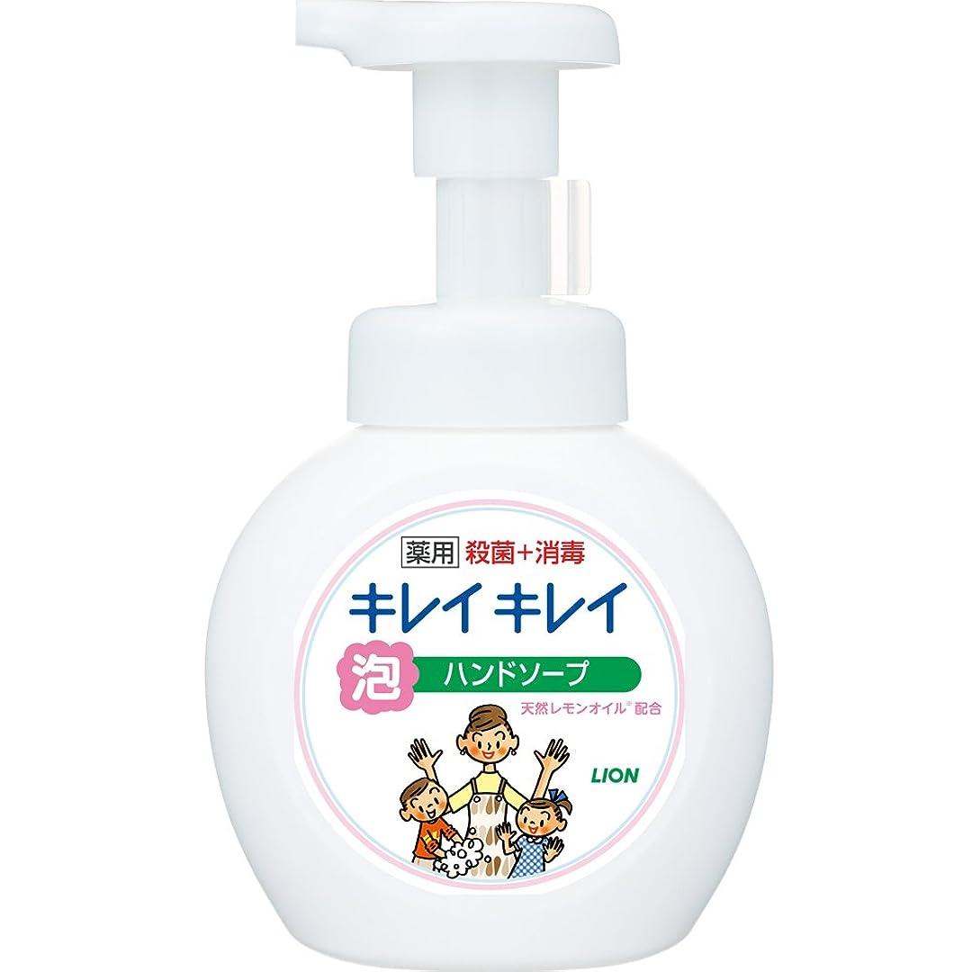 好奇心盛材料ブラインドキレイキレイ 薬用 泡ハンドソープ シトラスフルーティの香り 本体ポンプ 250ml(医薬部外品)
